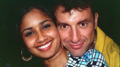 Victim Neelma Singh, 24, and accused Max Sica. Sisters Neelma, Sidhi, 12, and brother Kunal, 18, were found dead in a spa bath on Apr 22 2003 in their Bridgeman Downs home