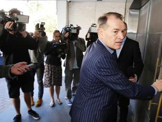 Packer's wingman John Alexander kicks off the celebrity guest list arrivals