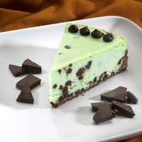 Random recipe#5: Mint Chocolate Cheesecake!