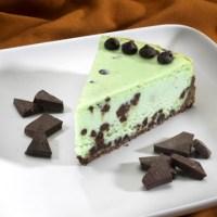 Random recipe#5: Mint Chocolate Cheesecake!