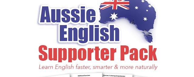 Aussie English Supporter Pack Update Feb 2017