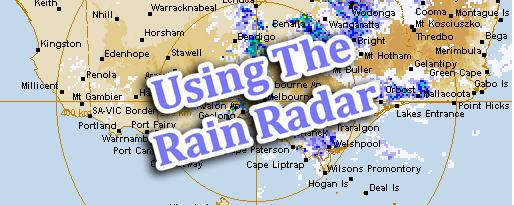Using The Rain Radar - Aussie English