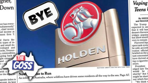 holden closes, crazy nike shoes, jeff bezos donates $15 billion to fight climate change