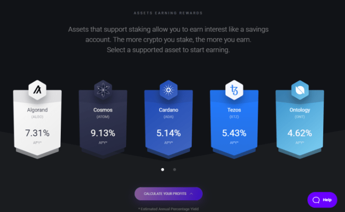 Exodus Wallet - Earn passive income with cryptocurrencies