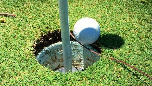 WHAT'S THE RULING? / A twig stops golf ball from falling into the hole