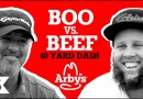 "BOO v BEEF / Boo Weekley and Andrew ""Beef"" Johnston race the 40-yard dash"