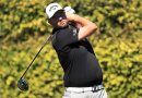 Marc Leishman wins a golf ball in Wednesday comp at Port Fairy