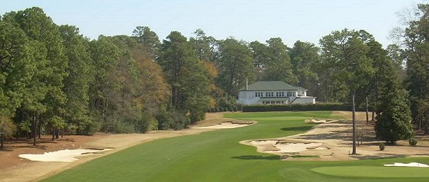 The Alister MacKenzie designed Palmetto Golf Club.