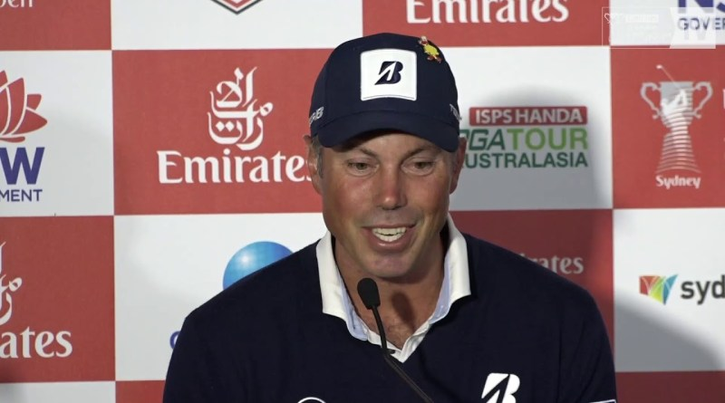 AUSTRALIAN OPEN / Matt Kuchar media conference video