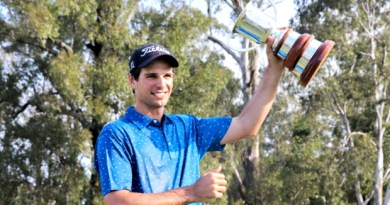 Jordan Zunic holds on to win Isuzu Queensland Open