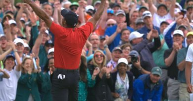 Tiger Woods wins fifth Masters green jacket