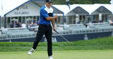 Koepka finishes 22-strokes ahead of golfers who made the cut in all 4 majors