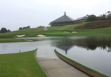 Check out these flooded golf courses on Australia's east coast