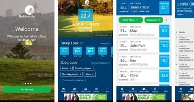 Have you tried the new Golf Australia handicap app?