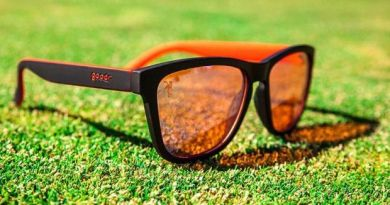 REVIEW Goodr Tiger Blood Transfusion golf sunglasses
