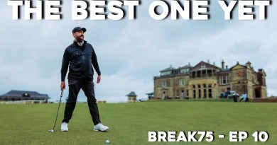 Watch Rick Shiels try and break 75 at The Old Course, St. Andrews