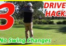 GOLF TIP Improve your driving without changing your swing