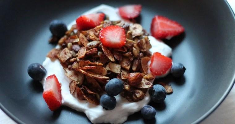 Keto Granola – Cinnamon & Almond Crunch