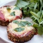 Keto vegetarian eggplant parmesan 4