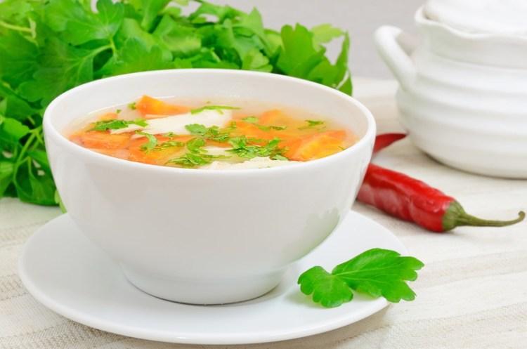 Wholesome Italian Chicken Soup