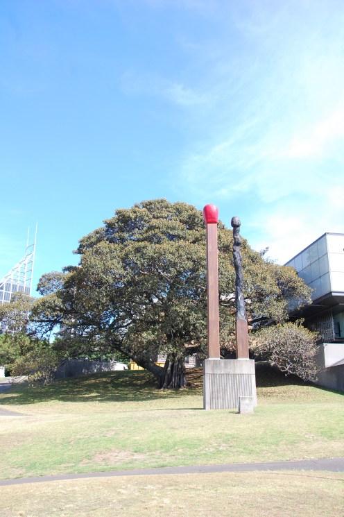 hinter der Art Gallery of NSW