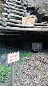 The old coal mine