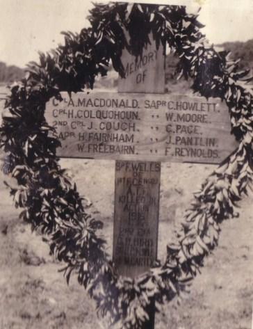 Anzac memorial Cross