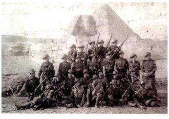 """Group Photo Egypt - Courtesy Gail McLoughlan - """"Private Family Collection"""""""