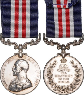 """WW1 - Military Medal - """"For Bravery In the Field"""""""