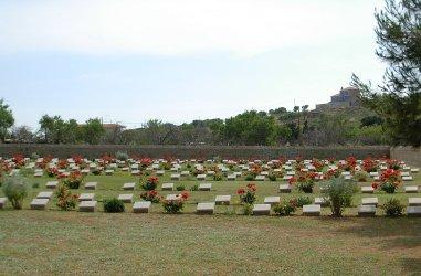 Portianos Military Cemetery Lemnos, Greece