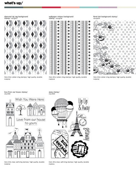 2012 cha release: basicgrey paper collections