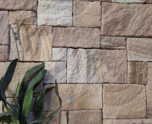Interior wall project using Aussietecture Colonial Ranch wall cladding stone