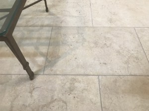 Gundy flooring marble tile and paver displayed in Aussietecture stone Sydney showroom with yardware furniture