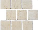 Aussietecture Cattai cobble stone flooring, Marble square pavers