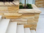 Bnaded capping sandstone from Aussietecture Australian stone supplier factory