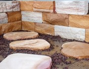 Stone steppers from Aussietecture Australian stone supplier Toowoomba factory