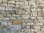 Aussietecture Irregular Franklin Brown walling stone, granite interior and exterior natural stone wall claddings