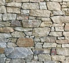 Aussietecture Irregular Franklin Brown walling stone, granite interior and exterior stone veneer