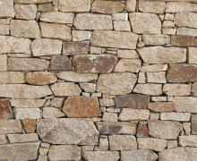 Aussietecture Irregular Franklin Gold walling stone, granite interior and exterior stone veneer