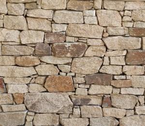 Aussietecture Irregular Franklin Gold walling stone, granite interior and exterior stone veneer