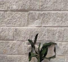 Aussietecture kirra white wall cladding stone, split surface sandstone