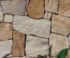 Aussietecture Irregular Ranch walling stone, Sydney sandstone, irregular shape