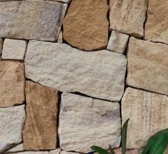 Aussietecture Irregular ranch walling stone, sandstone interior and exterior stone cladding veneer