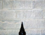 white split block from Aussietecture stone supplier factory, made from sandstone