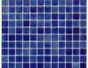 Aussietecture Crete swimming pool mosaic, blue glass mosaic for pool tiling