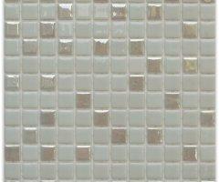 Aussietecture Jasper swimming pool mosaic, cream colour glass mosaic for pool tiling