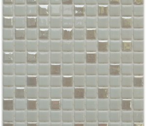 Aussietecture Jasper swimming pool mosaic, cream colour glass mosaic for pool tiling
