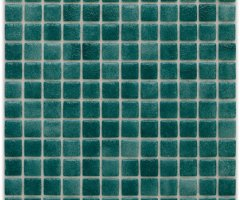 Aussietecture Tokyo swimming pool mosaic, green glass mosaic for pool tiling