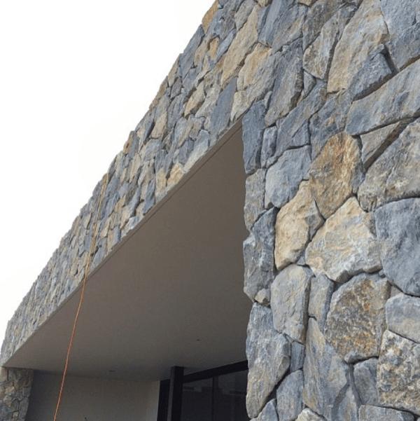 Eyre limestone dry stack stone cladding