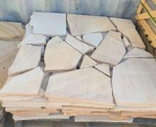 Australian sandstone crazy pave, paving sandstone